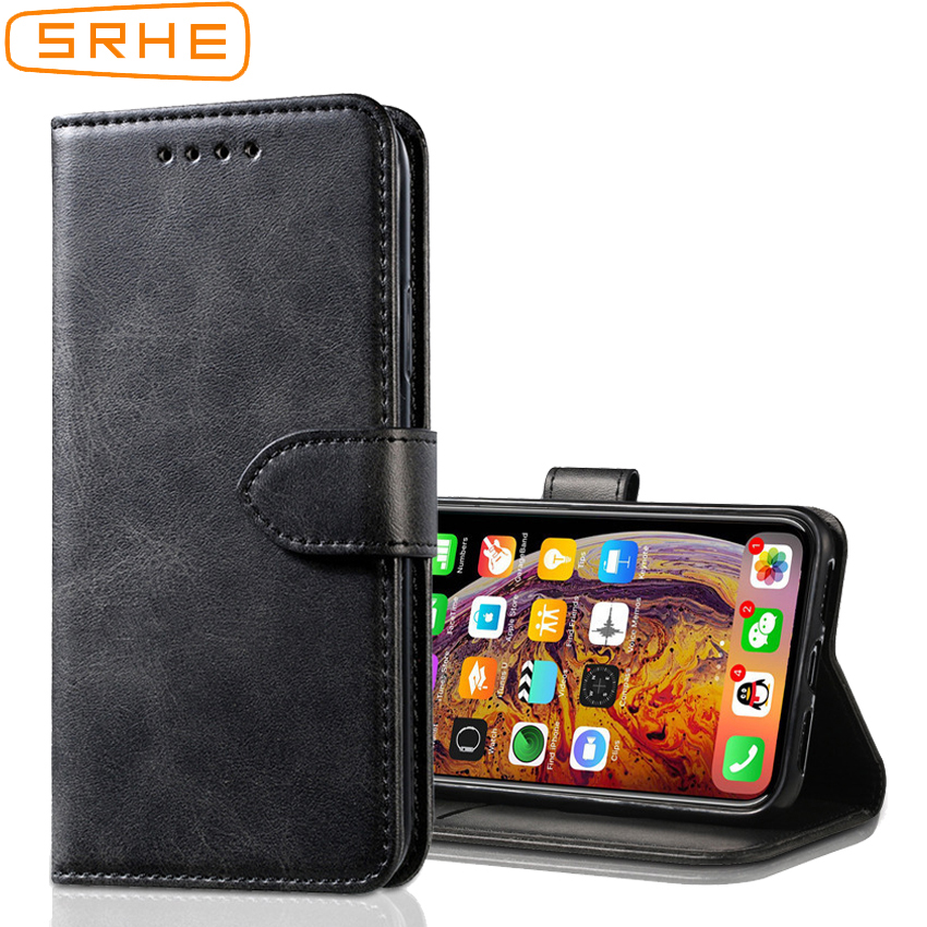 SRHE Cover For Lenovo Z6 Lite Luxury Flip Case Silicone Leather Magnetic Wallet Phone Case For Lenovo Z6 Lite L38111 Cover