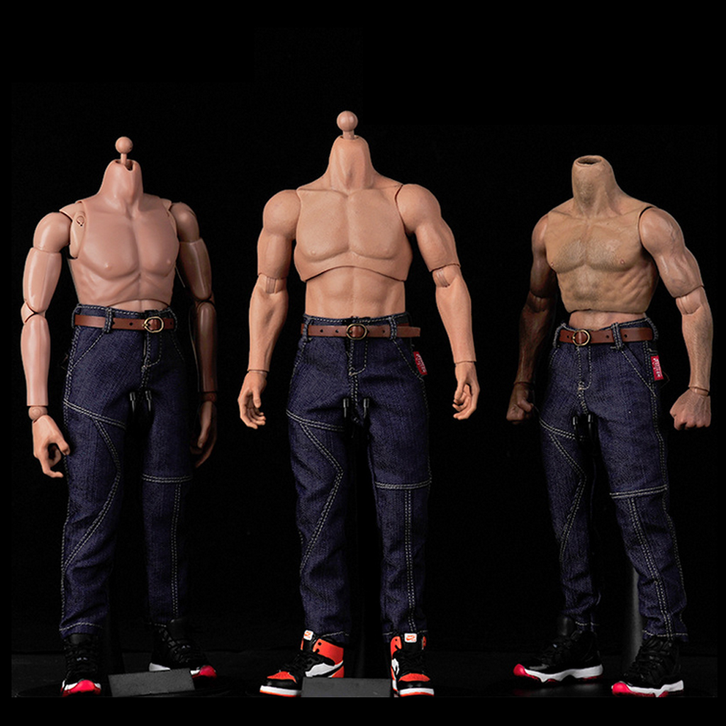1/6 Scale Male Hip Hop Style Jeans Pants/Denim Jeans for 12'' Action Figure Accessories Dolls Clothes Clothing Collectibles Gift men s cowboy jeans fashion blue jeans pant men plus sizes regular slim fit denim jean pants male high quality brand jeans