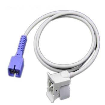 5pcs/lot Compatible for Nellcor DB7 Pin Pediatric Fingerclip Spo2 Sensor Pulse Oximeter Probe,Spo2 Sensors Oximetry Sensor 1M