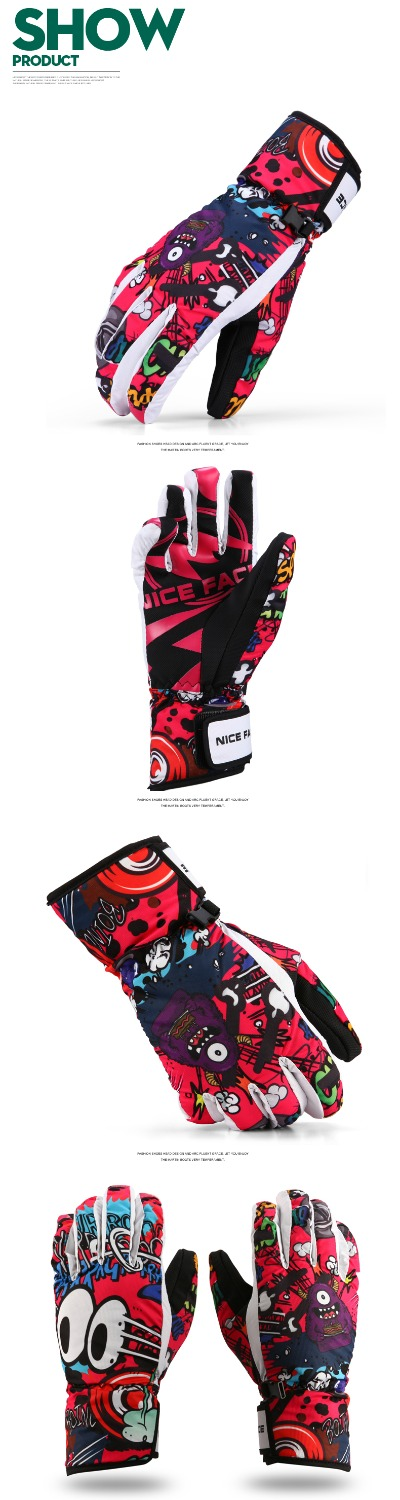ski gloves snowboard