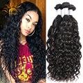 8A Top Quality Brazilian Water Wave Virgin Hair Brazilian Hair Weave Bundles Wet And Wavy Virgin Human Hair 4 Bundles Ocean Wave