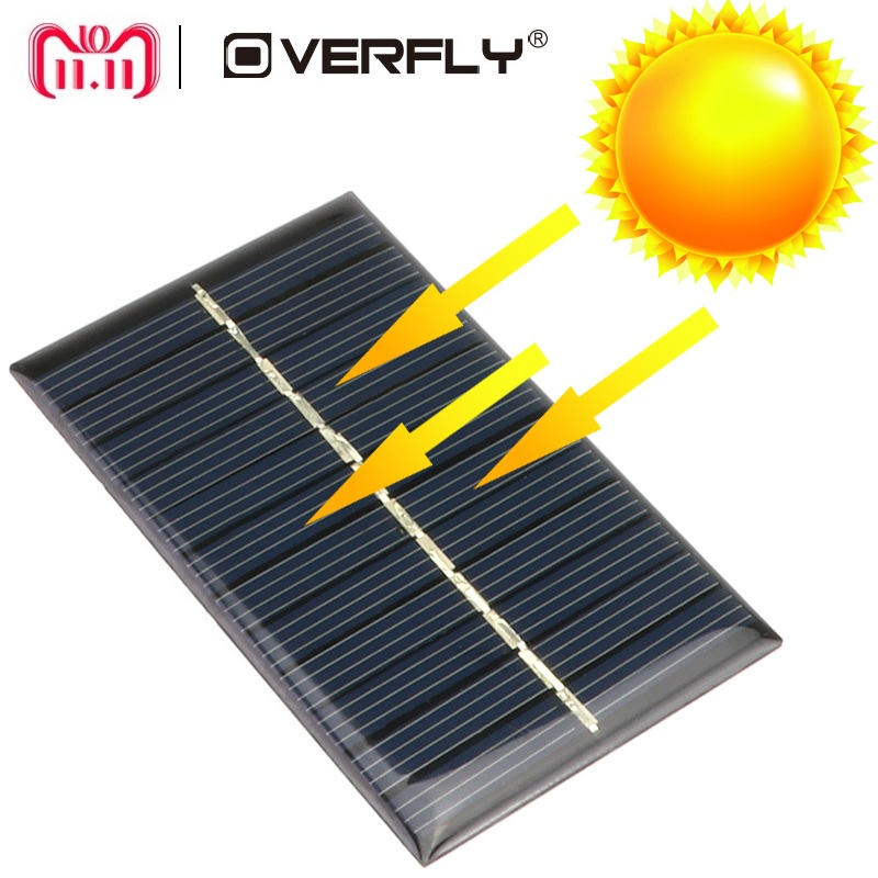 Solar Panel 5V 6V 12V Mini Solar System DIY For Battery Cell Phone Chargers Portable Solar Cell 0.15W 0.6W 1W 1.25W 1.5W