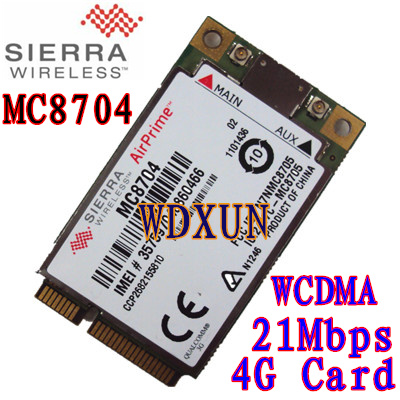 Hitri 3G / 4G Sierra AirPrime MC8704 in MC8705 HSPA + modula, 3G modemi za mobilna širokopasovna omrežja