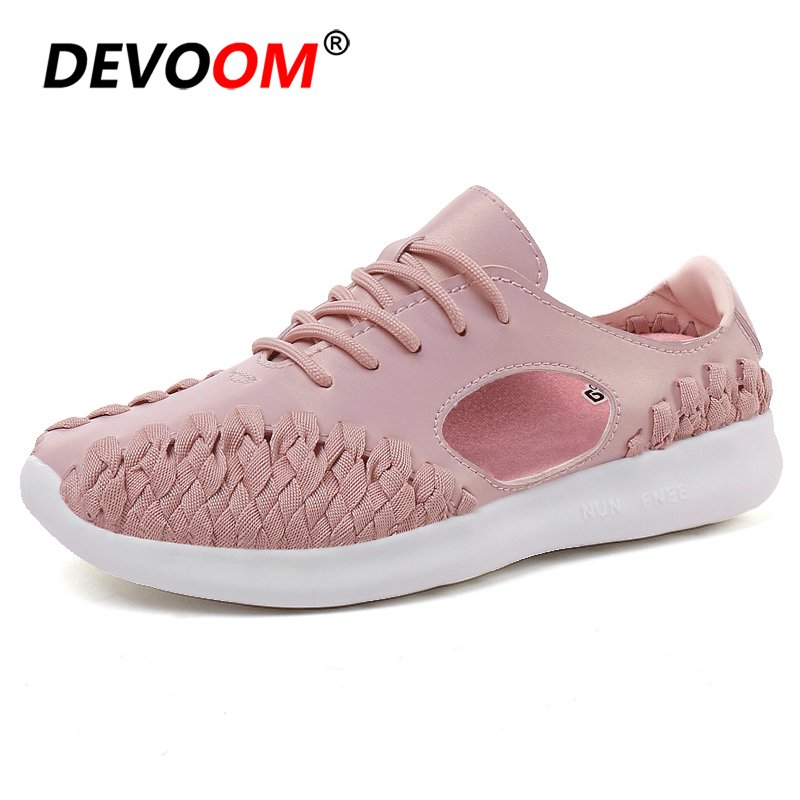 Women Summer Shoes Fashion Brand Quality Light Breathable Women Flat Shoes Ladies sandalen 2018 New Womens Sneakers Nurse Shoes gogc 2018 new floral denim slipony women breathable shallow shoes footwear flat shoes women fashion sneakers women summer spring