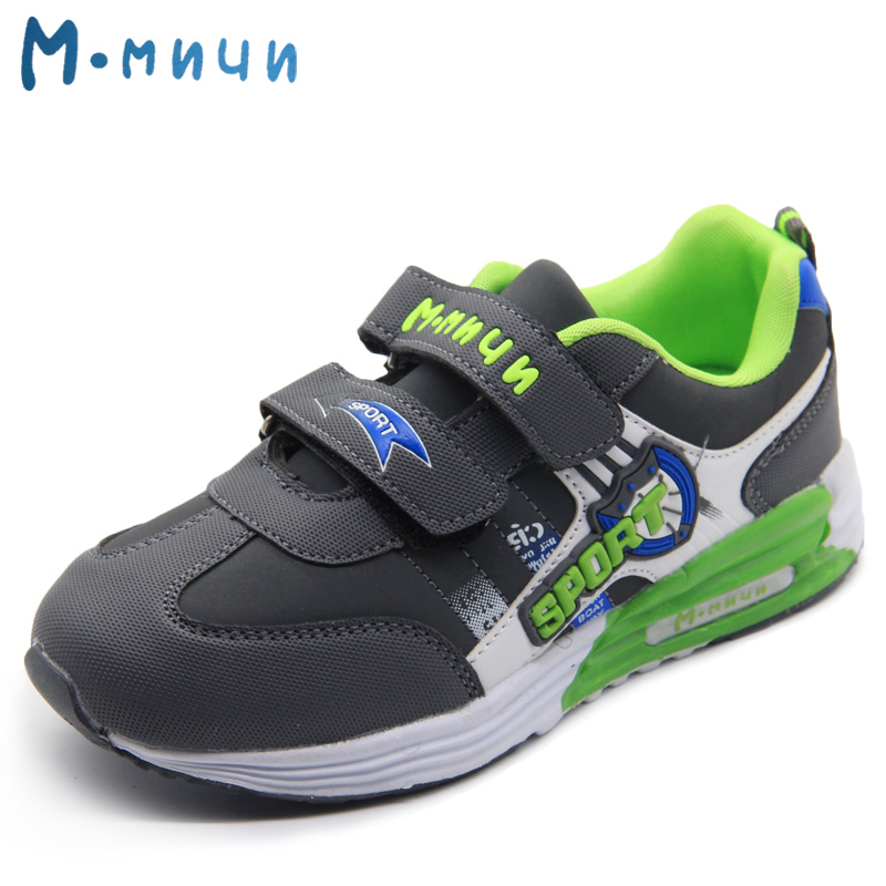MMNUN 2018 New Children Sneakers Shoes for Boys Big Kids Breathable Boys Sneakers Sport Shoes Children's Shoes for Boys Footwear children usb charging kids led shoes adult man women led luminous sneakers casual boys girls breathable sneakers glowing shoes