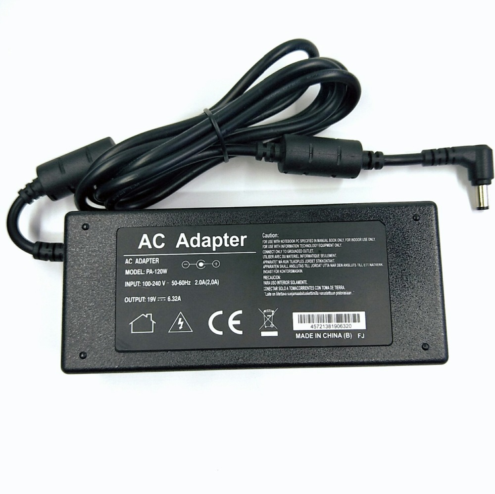 2018 - New AC Power Adapter for <font><b>asus</b></font> Adapter with <font><b>19V</b></font> <font><b>6.32A</b></font> <font><b>120W</b></font> DC : 5.5*2.5MM for <font><b>Asus</b></font> ADP-120ZB BB PA3290E-3AC3 Charger image