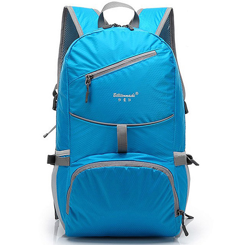 ENKNIGHT Nylon Folding Waterproof <font><b>Backpack</b></font> School Bag for Men and Women Rucksacks Satchel for Adolescent Girls School Supplies