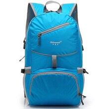 Enknight nylon faltung wasserdichte rucksack rucksäcke straße tasche tornister reiten rucksack fahrt pack