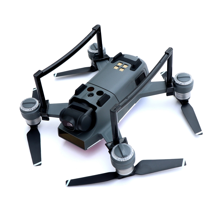 Landing Gear for DJI Spark Drone 2 5cm Height 9g Weight 2 Colors Gray and Black