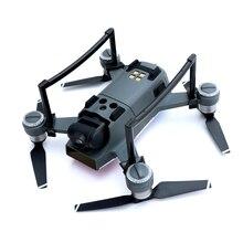 Шасси для DJI Spark Drone 2.5 см Высота 9 г вес 2 цвета серый и черный розничной упаковке Extender протектор