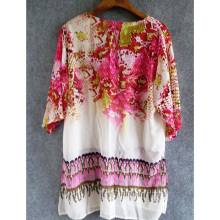 Snake Print Chiffon Beach Cover Up