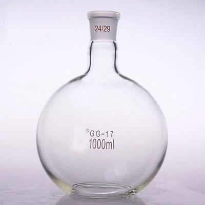 1000ml 24/29 Single Neck round-bottom Flask Boiling Flask For Chemistry Laboratory FREE SHIP1000ml 24/29 Single Neck round-bottom Flask Boiling Flask For Chemistry Laboratory FREE SHIP