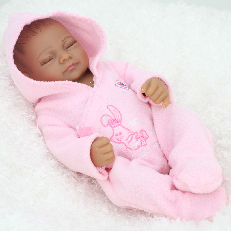 Aliexpress Com Buy 10 Inch Sleeping Baby Girl Full Body