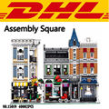 2017 New City Creator Street Series Assembly Square 40002Pcs Model Building Kits Blocks Bricks Compatible Toy For Children 10255