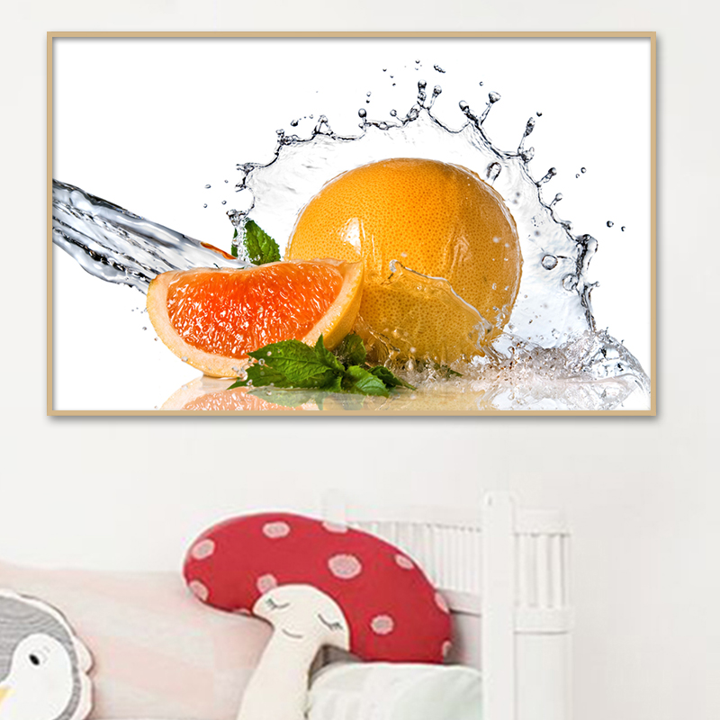 Permalink to painting calligraphy large canvas printing art poster wall pictures for living room home decoration water fruit image PP856