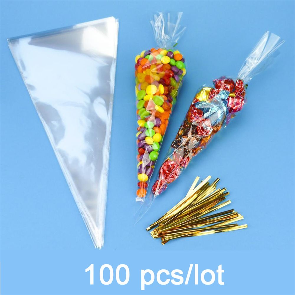 Clear Plastic Cones For Crafts
