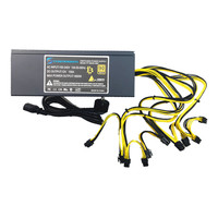 T F SKYWINDINTL 1800W Mining PSU PC Power Supply APW3 Mining Power Supply Antminer Miner S9