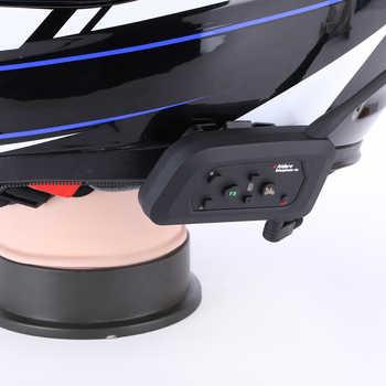 4 pcs V4 Fodsports 1200M 4 riders interphone full duplex bluetooth intercom headset for motorcycle helmet with FM radio function