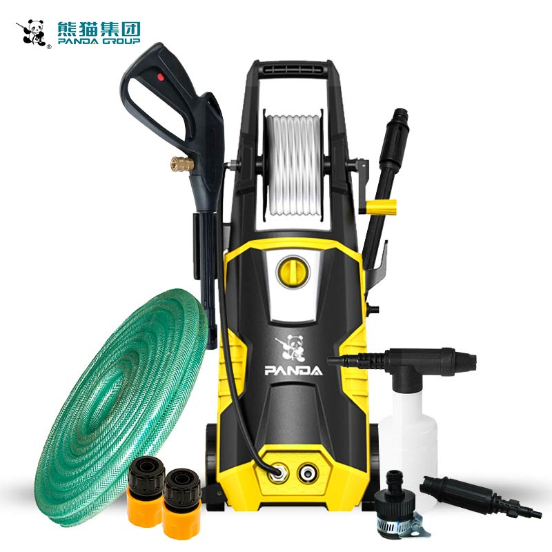 Power Washing Machine >> Us 161 5 5 Off Xm 2091 1 High Pressure Washing Machine 150bar 220v 1 8kw Portable Car Pressure Washer 6lpm Cold Water Cleaning Machine In Pumps From
