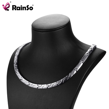 Power Necklaces Classic Link Chain For Women Health Jewelry 1