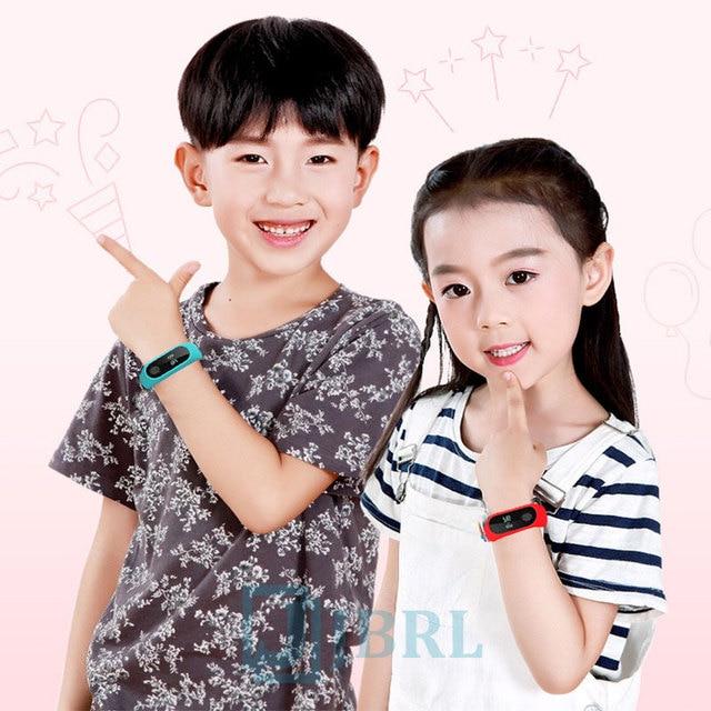 Sport Bracelet Smart Watch Kids Watches Children For Girls Boys Child Wristband Smart Band Fitness Tracker Smartwatch Smartband 2