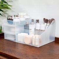 Makeup Organizer Desktop Storage Box Brushes Cream Bottle Cosmetics Case