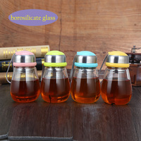 High Quality High Shelf Silicon Glass Cool Drinking Glasses Penguin Style Glass 304 Stainless Steel Cute