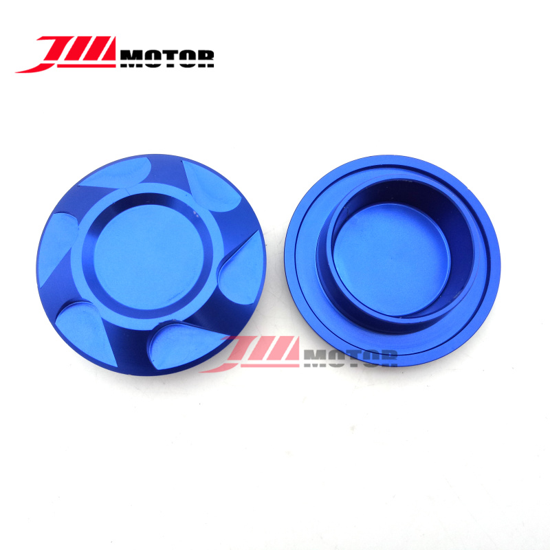 Blue Color Motorcycle Aluminum Frame Hole Cover Caps For Yamaha YZF R3 2015 2016 YZF R25 2013 2014 2015