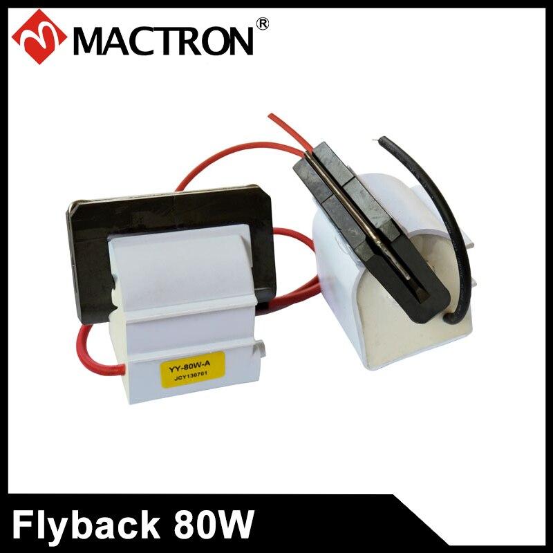 برگشت ولتاژ بالا برای منبع تغذیه با لیزر 80W ، منبع تغذیه لیزری با ولتاژ بالا ترانسفورماتور 80w