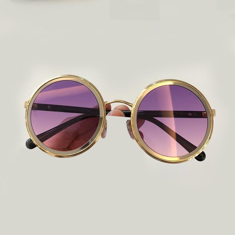 Perle De Designer Mit no5 Sunglasses Sonnenbrille Sol Sunglasses Sunglasses No1 2019 Runde Vintage Mode Marke Oculos Sunglasses Sunglasses no2 Feminino no6 Frauen Qualität Sunglasses no4 no3 Hohe Ozq6Xwxx