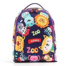 Backpack anti-lost kindergarten bag cartoon shoulder material children