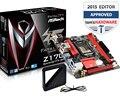 100% новый оригинальный материнская плата для ASRock Z170 Gaming-ITX/AC LGA 1151 DDR4 32 ГБ USB3.1 Z170M. 2 Desktop motherborad Бесплатная доставка