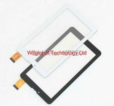 New Capacitive Touch Screen Digitizer Glass For Texet TM-7049 /TM-7059 /Turbopad 721 /Vido N70 3G Tablet Free Shipping witblue new for 7 texet x pad navi 7 3g texet tm 7059 tablet touch screen panel digitizer glass sensor replacement free shippin