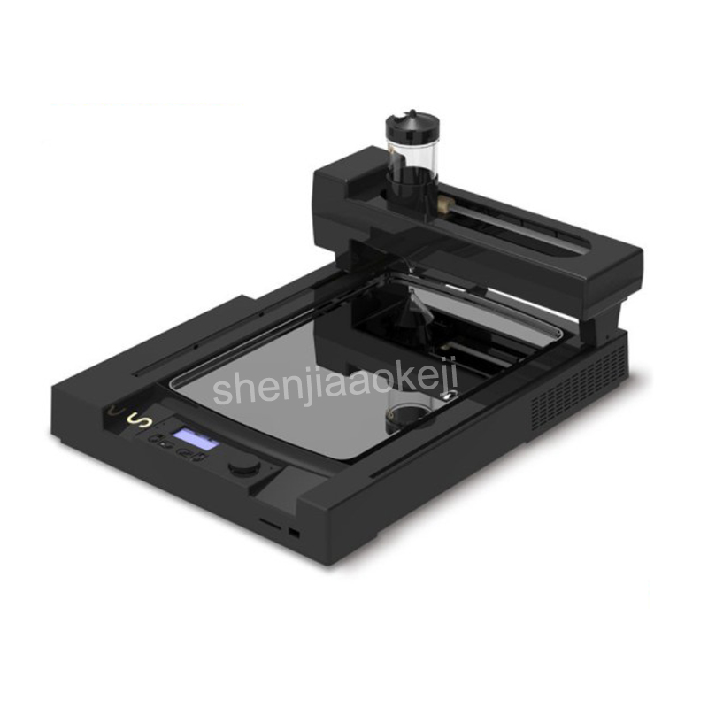 1pc 220v 1600w Commercial Pancake Printer BS-3D Food 3D Printer Household Biscuit 3d Printer Biscuit Oven Kitchen Applications