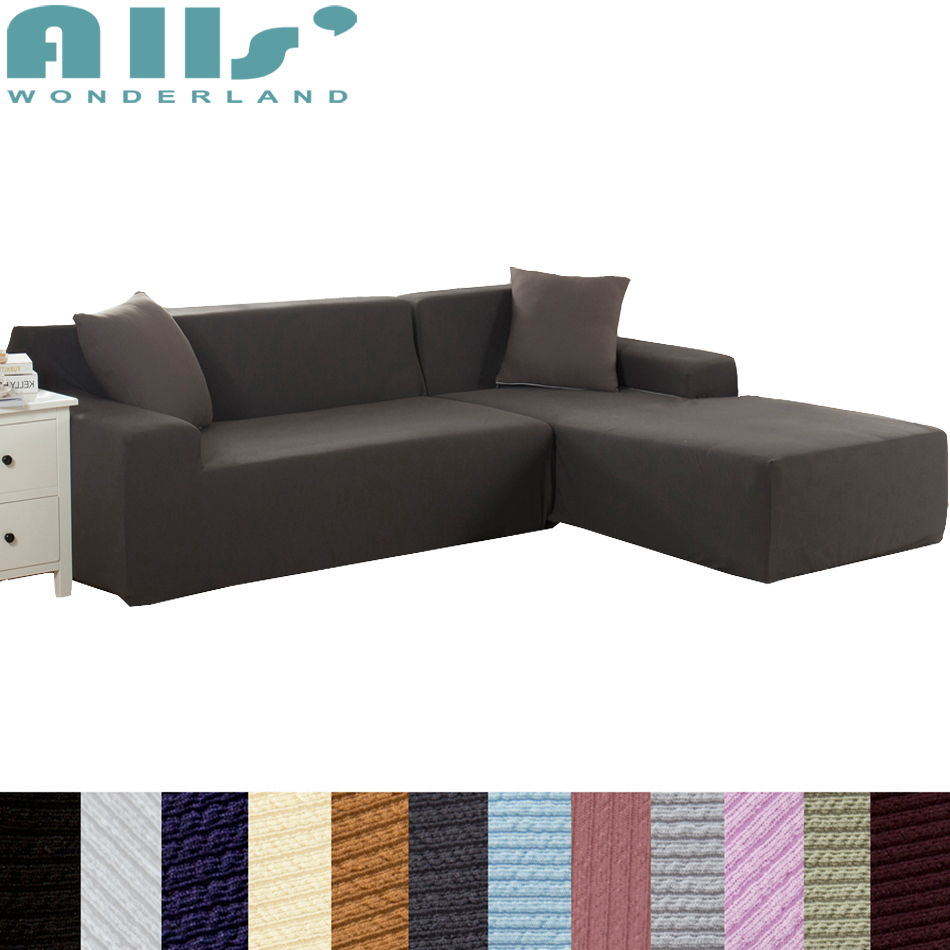 Quality Sofa Covers Us 72 75 1pc Sofa Cover Spandex Polyester High Quality Living Room Sofa Covers Knitted Furniture Protector Modern Couch Stretch Cover In Sofa Cover