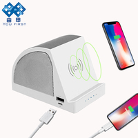YOU FIRST Portable Bluetooth Speaker Powerful Wireless Charger Music Stereo Speakers For Mobile Phone Computer With Power Bank