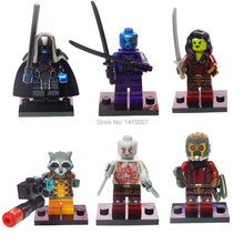 Decool  Building Blocks Super Heroes brinquedos Avengers Action Figures Guardians of the Galaxy ronan camora drax destroyer