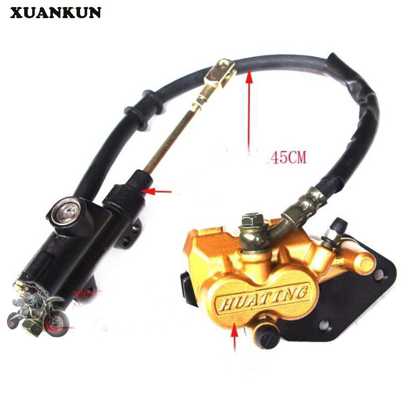 XUANKUN  110CC Off-Road Motorcycle Accessories Rear Brake Pump Up And Down Pump Assembly After The Disc Brake xuankun motorcycle scooter electric motorcycle electric car brake on the pump before and after the disc brake pump