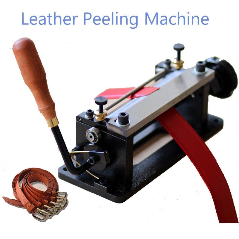 Aletler'ten Makine Merkezi'de 806 P El Yapımı Deri Şekillendirme Makinesi Endüstriyel Ağır Sert Deri Dikim Bronzlaşma deri kesme makinesi Deri Makinesi