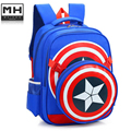 New Fashion Primary School Students School Bags Grade 1 - 5 years old Children School Backpack Boys Girls Double Shoulder Bag