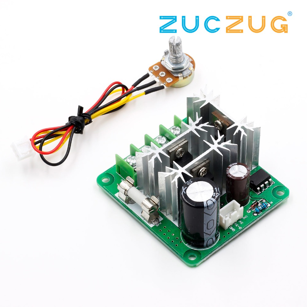 Enthusiastic Youe Shone 1pc Universal Dc10-60v Pwm Hho Rc Motor Speed Regulator Controller Switch 20a Convenient To Cook Active Components