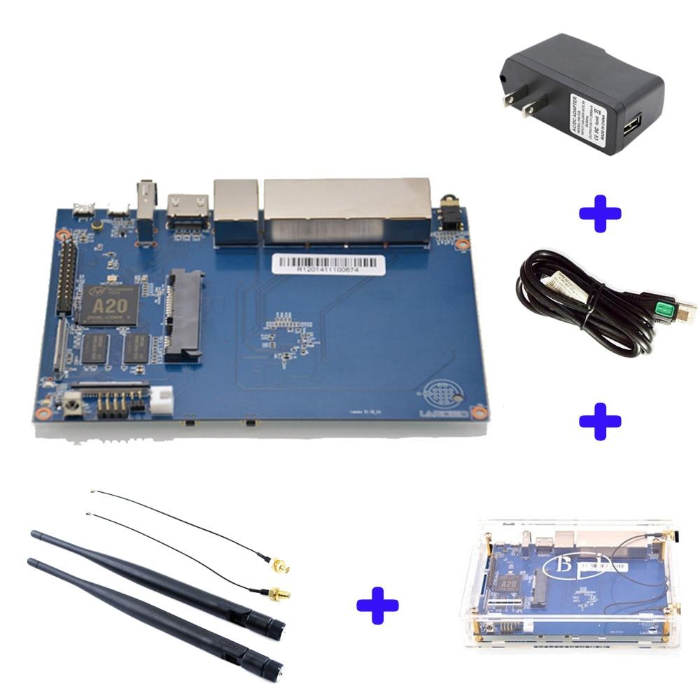 Banana PI BPI R1 Smart Home Wire 2G LPDDR3 Open-source Development Board Single Board raspberry pi compatible banana pi bpi uno32 board