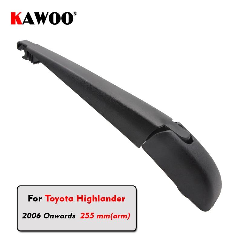 KAWOO Car Rear Wiper Blade Blades Back Window Wipers Arm For Toyota Highlander Hatchback (2006 Onwards) Windscreen Blade