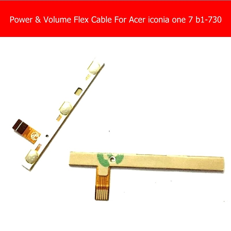 купить Weeten Switch Volume & power flex cable For acer iconia one 7 b1-730 7.0 volume & power side key flex cable replacement repair дешево
