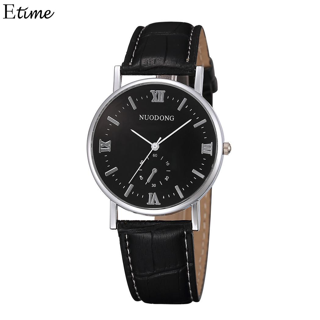 Lover's Watches Beautiful Fanala Watch Men Women Round Fashion Pointer Buckle Quartz Watches Unisex Lovers Relogio Masculino Relogio Feminino For Sale