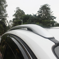 Car Styling Aluminium Alloy Top Roof Rails Racks Side Bars Luggage Carrier Racks For Ford Escape Kuga 2013 2014 2015 2016 2017