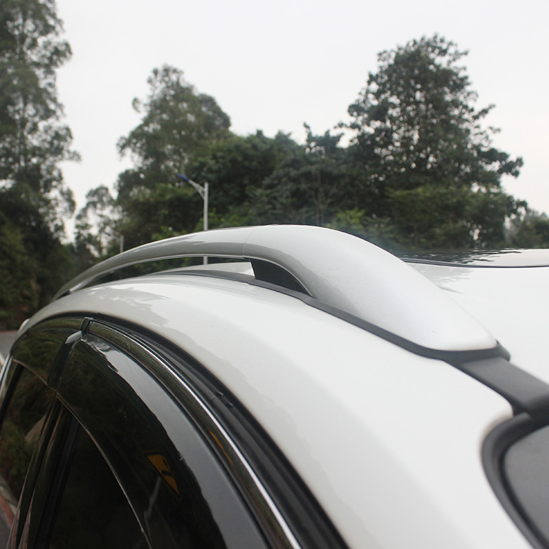 Car Styling Aluminium Alloy Top Roof Rails Racks Side Bars Luggage Carrier Racks For Ford Escape Kuga 2013 2014 2015 2016 2017 car styling auto roof rack side rails bars baggage holder luggage carrier aluminum alloy for ford escape kuga 2013 2014 2015