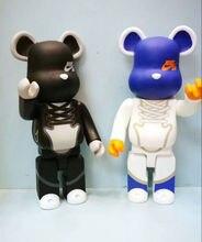 Новый Style11 дюйм(ов) Be @ rbrick 400% Bearbrick насилие ПВХ фигурку Коллекционная модель игрушки подарки