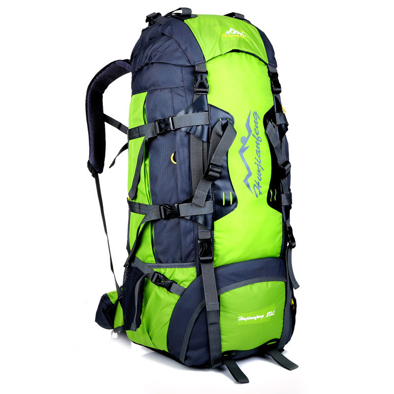 Large-Capacity Mountaineering Backpack 80L Waterproof Backpack Luggage Rucksack Bag New xiniu jd коллекция 304 26см из нержавеющей стали дефолт