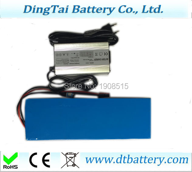 OEM customized long cycles lifepo4 48V 12ah lithium battery pack with charger for electric scooter ebike